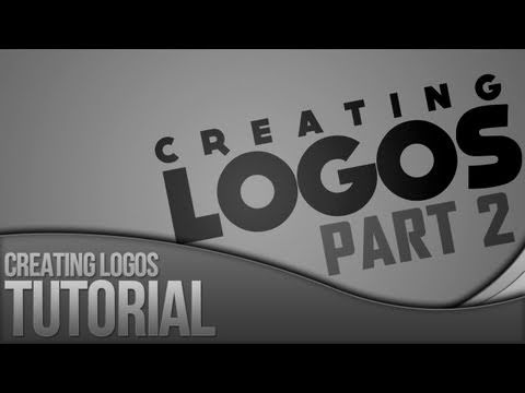 Photoshop Tutorial: Creating Logos - Part 2
