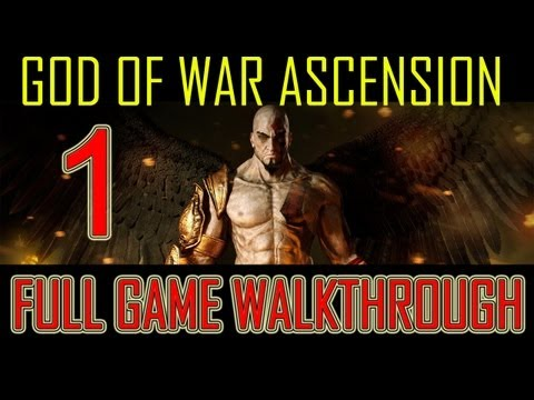 God of War Ascension - walkthrough part 1 opening First 30 Minutes gameplay single player let's play god of war 4 -WihtzdgbL6U