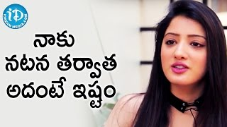 Richa Panai About Her Interest apart From Acting || Talking Movies With iDream - IDREAMMOVIES