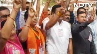 गुजरात निकाय चुनाव नतीजों में बीजेपी को नुकसान, लेकिन कांग्रेस से आगे - NDTVINDIA