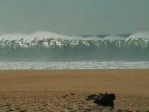 Praia do Meco Portugal Gigantic Groundswell