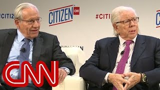 Woodward & Bernstein compare covering Trump to Nixon | CITIZEN by CNN - CNN
