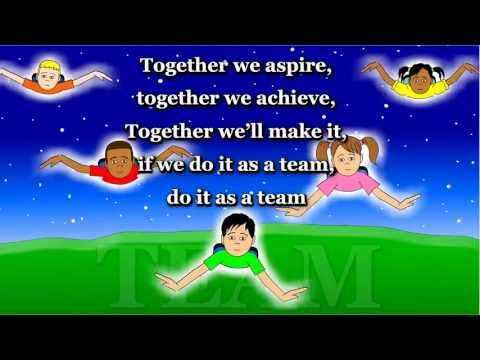 Together We Aspire (TEAMWORK) - Animated Song