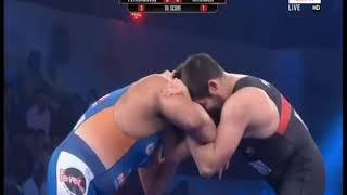 PWL 3 Day 10: Geno Petriashvili VS Hitender Pro Wrestling League at season 3 |Full Match - NEWSXLIVE
