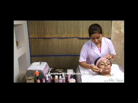 Vedic Line Aromatherapy Facial Treatment Therapy.VOB