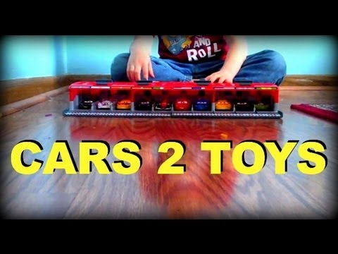 CARS 2 TOY COLLECTION!