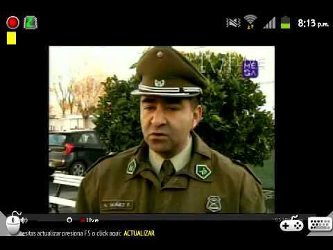 Muerte de Actriz Chilena en Persecucion Policial(Informe de Ahora Noticias)