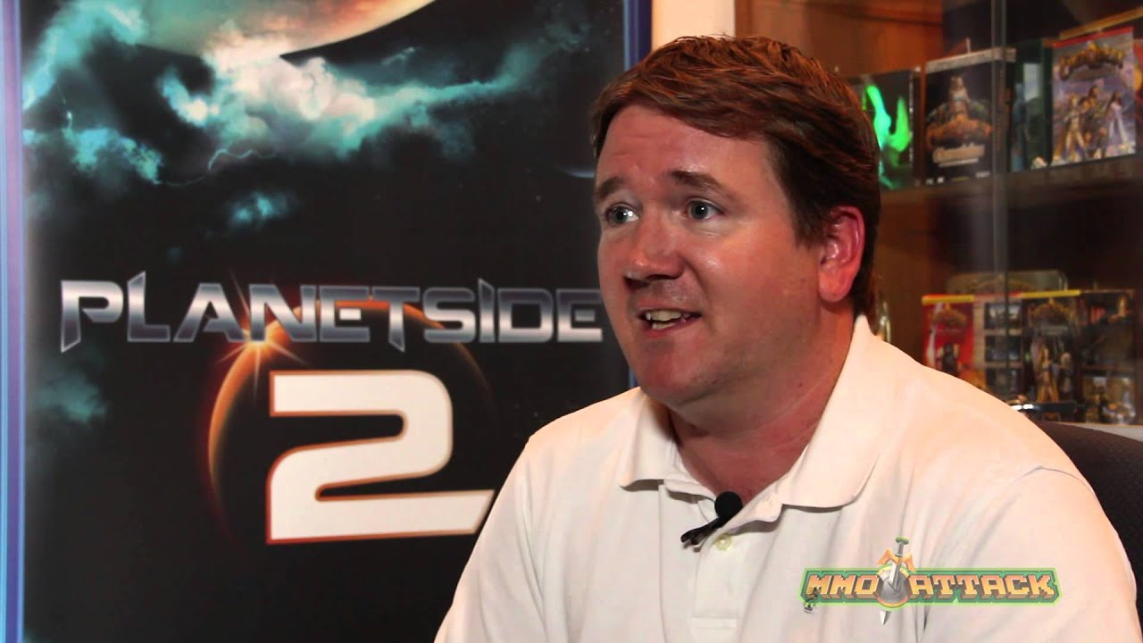 PlanetSide 2 Developer Interview - Rodney Gates