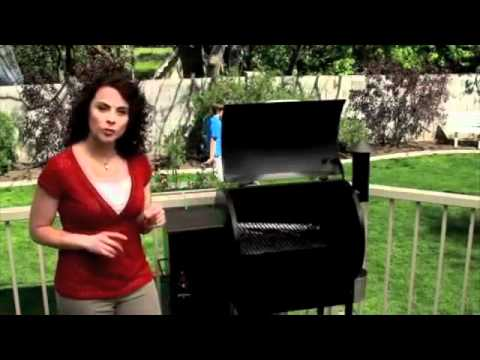What type of fuel does a Traeger grill use? 