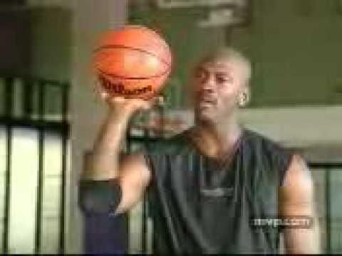 Michael Jordan Basketball Tips 10 The fundamentals of free throws