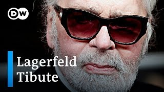 Fashion World pays tribute to Karl Lagerfeld | DW News - DEUTSCHEWELLEENGLISH
