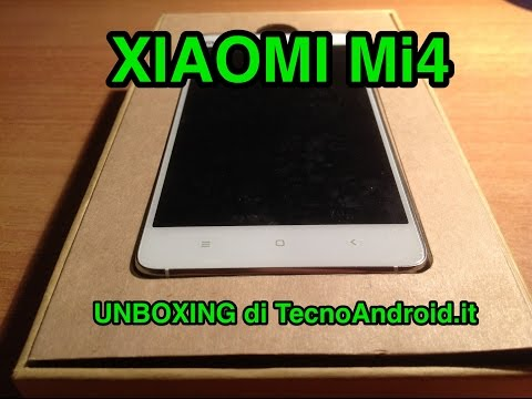 Xiaomi Mi4 - unboxing di TecnoAndroid.it