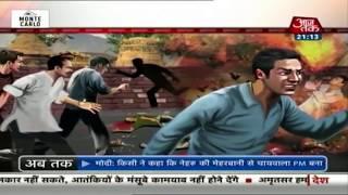 'भारत माता की जय' से जलते हो...जलते रहो ! | खबरदार - AAJTAKTV