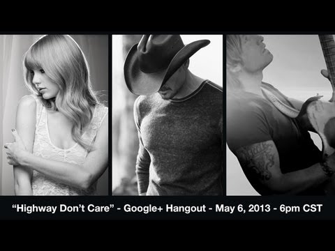 Tim McGraw's Video Premiere -- Highway Don't Care -- with Taylor Swift and Keith Urban