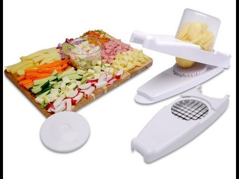 Nicer Dicer cortador fatiador legumes verduras frutas CBR1011