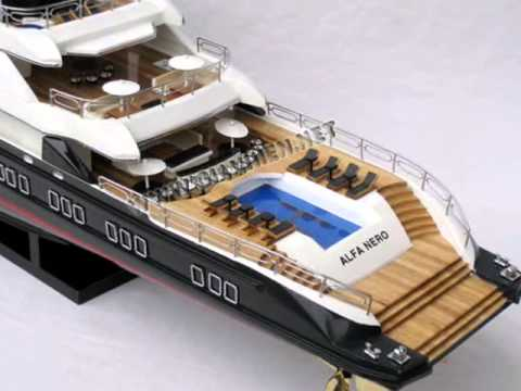 Alfa Nero Wooden Model Ships HANDICRAFTS MODEL BOATS
