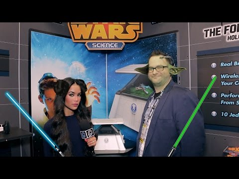 The Force Trainer II: Hologram Experience & Star Wars Science from Uncle Milton - TFNY 15