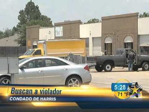 Autoridades del Condado de Harris buscan a presunto violador. 23  Mayo 2012. Telediario Houston