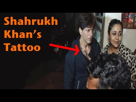 EXCLUSIVE: Shah Rukh Khan's Tattoo For Imtiaz Ali's Film