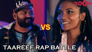 Rap Battle - D'evil vs Dee MC | Kaneez Surka | Taareef Rap Battle - ZOOMDEKHO