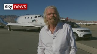 Sir Richard Branson: Space tourists are next - SKYNEWS