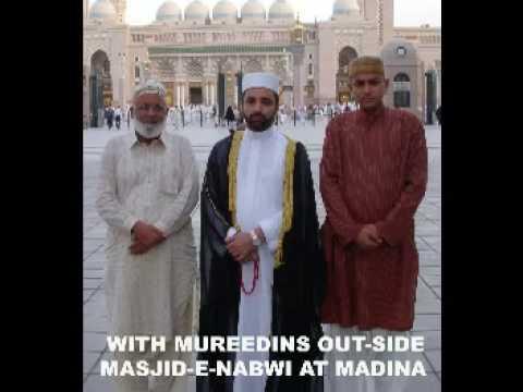 Ghousia Darbar Al Sayed Hashimuddin Al Gaylani at Madina with Murideens
