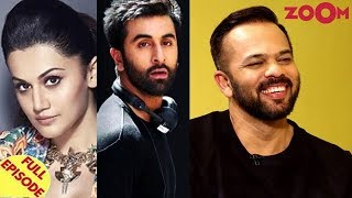 Taapsee Pannu REFUSES to work with Ranbir Kapoor? | Rohit Shetty Exclusive Interview & more - ZOOMDEKHO