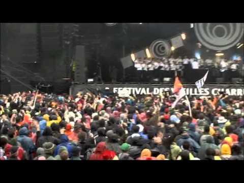 Vieilles Charrues 2011 Dj Zebra & Bagad Karaez (medley)