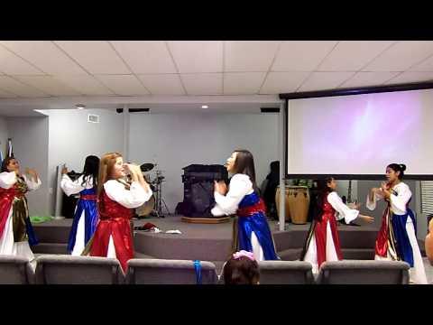 Danza Cristiana de Navidad.. Grupo de Danza Shalom
