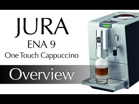 Jura Ena 9 One Touch Cappuccino Centre