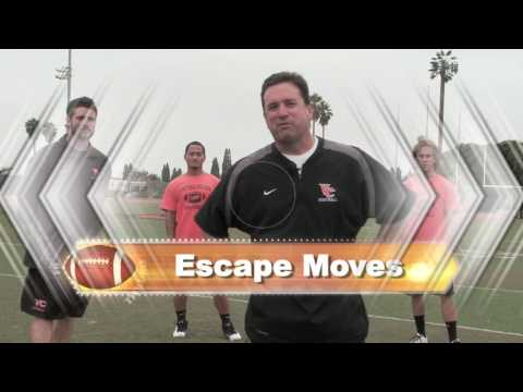Wide Recievers Skills and Drills - Coach  Pat Powers - 56 Minute Instructional Video
