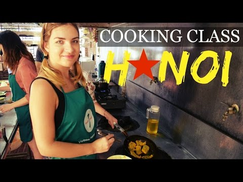 HANOI HOME COOKING CLASS WITH VIETNAM AWESOME TRAVEL