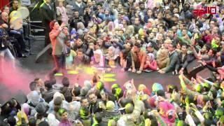 """اتفرج .. أحمد جمال يشعل حفل """"صن سيتي"""" في عز البرد"""