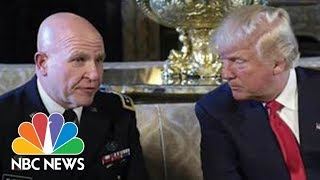 H.R. McMaster The Latest In President Donald Trump's White House Staff Shakeups | NBC News - NBCNEWS