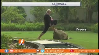 Karnataka CM Kumarswamy Response On PM Narendra Modi Fitness Challenge | iNews - INEWS