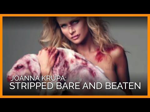 Joanna Krupa Stripped Bare and Beaten