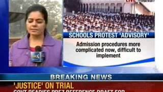 NewsX: Delhi nursery admissions: Lieutenant Governor issues fresh guidelines - NEWSXLIVE