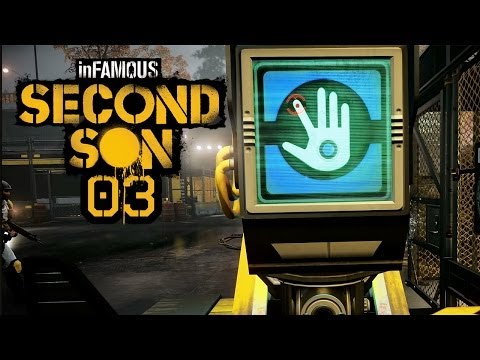 Let's Play inFamous: Second Son (PS4) - #003 - Eine Scanstation? Gut?