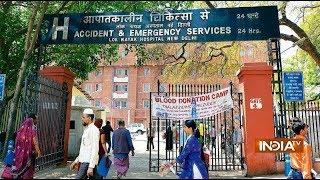 Prisoner escapes from Delhi's Lok Nayak Jai Prakash Narayan Hospital - INDIATV