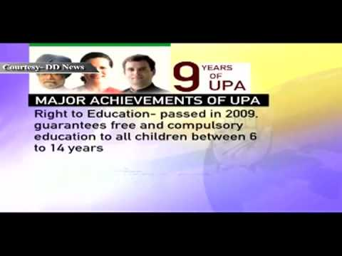 Economy & Achievements: Nine Years of UPA Government