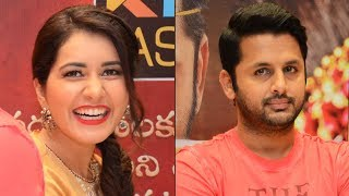 Srinivasa Kalyanam Movie Team At KLM Fashion Mall | Nithiin | Raashi Khanna | TFPC - TFPC