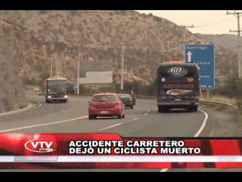 CRISTIAN REINOSO ACCIDENTE CARRETERO DEJÓ UN CICLISTA MUERTO