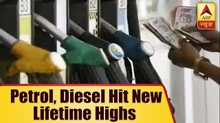 Petrol, Diesel Hit New Lifetime Highs On The 9th Straight Day of Fuel Price Hikes | ABP News - ABPNEWSTV