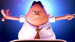 "CAPTAIN UNDERPANTS - ""Kings Of Farts"" Movie Clip + Song Trailer (Animation, 2017) - FILMSACTUTRAILERS"