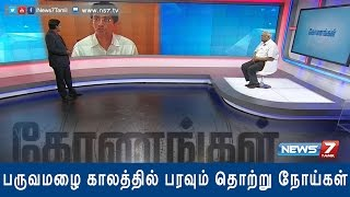 "Konangal 04-11-2015 ""Dengue: What the society and the Govt should do to prevent it?"" – NEWS 7 TAMIL Show"
