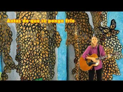 Canción De La Mariposa Monarca: Sue Young sings Spanish version of Lucas Miller's monarch song