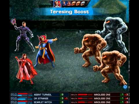 Marvel Avengers Alliance 9.6 Premium Mission Dormammu vs Dr.Strange