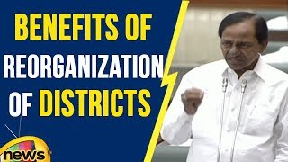 KCR Excellent Speech on Benefits of Reorganisation of Districts | TS Assembly | Mango News - MANGONEWS