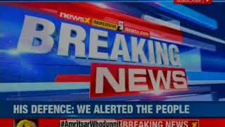 AAP leader's shocker on Amritsar train accident; Sukhpal Singh Khaira call the incident a minor one - NEWSXLIVE