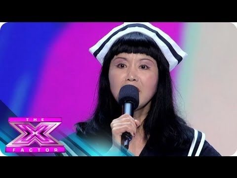 Meet Changyi Li - THE X FACTOR USA 2012